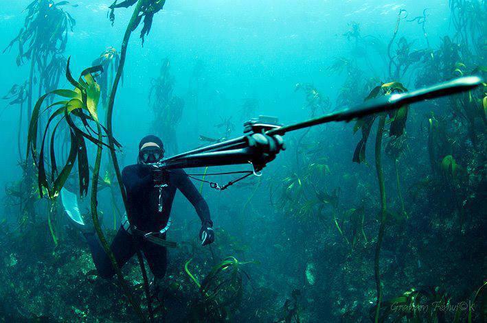 подводная рыбалка с арбалетом